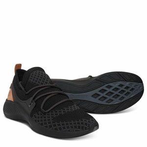 Timberland FlyRoam Go Oxford Black Knit Sneakers